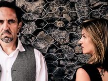 Joe Chindamo and Zoe Black