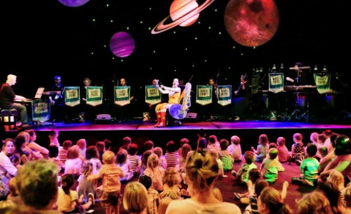 Space symphony melbourne recital centre for Outer space design melbourne