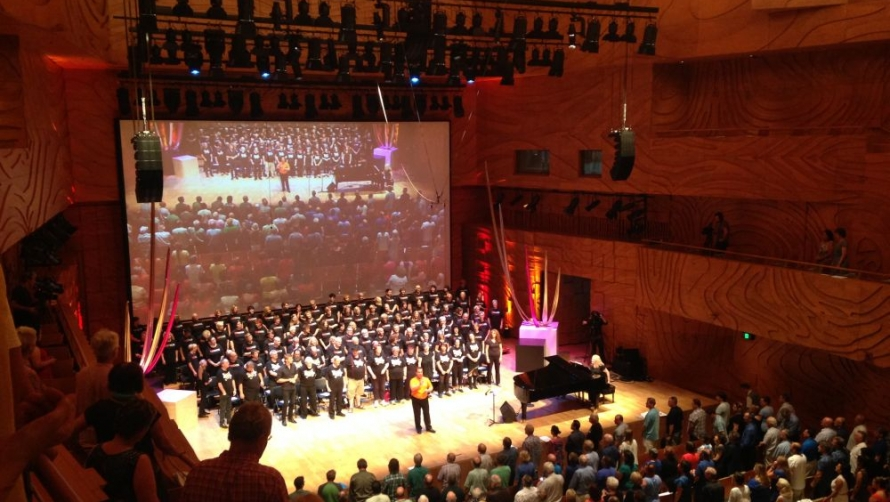 The Big Sing - Elisabeth Murdoch Hall
