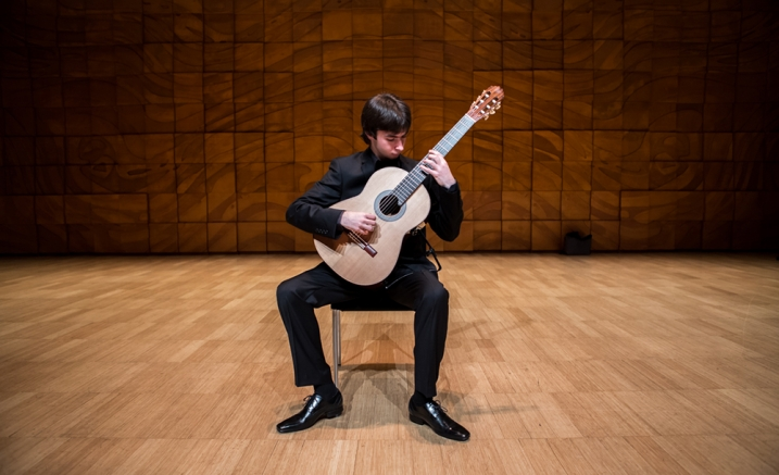 Miles Johnston, 2015 Bach Competition Co-Winner