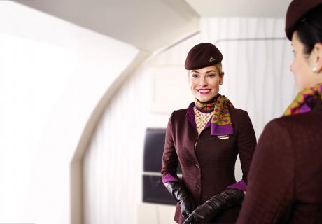 Etihad Airways Attendant