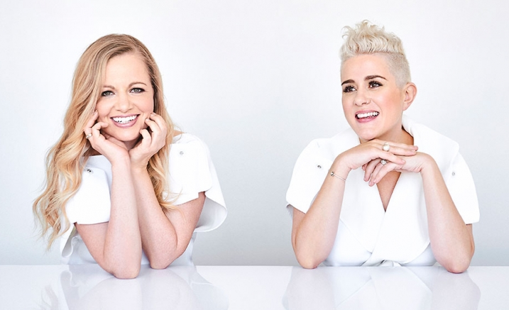 Katie Noonan and Karin Schaupp