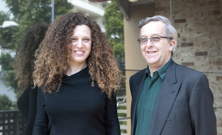 Sonya Lifschitz and Stephen Emmerson