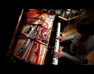 Hauschka at NPR: Improvisation