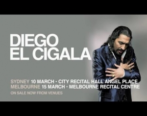 Diego El Cigala talks about his concert