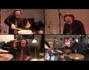 David Jones Awesome 4-Part Drum Solo [Live at Collarts]