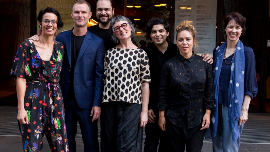 2017 winner Andrew Keller with Ensemble Offspring