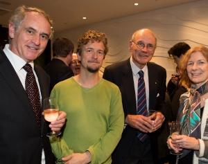 Christian Tetzlaff with patrons 2013