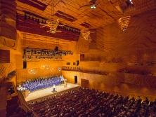 Image: Australian Boys Choir in Elisabeth Murdoch Hall