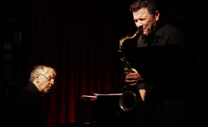 Two Pianos & Saxophone