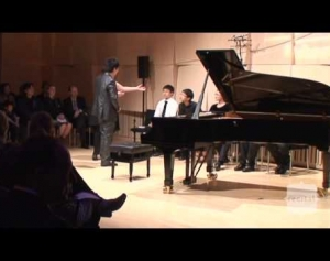 Melbourne Recital Centre Masterclass with Lang Lang
