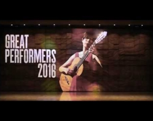 Welcome to Great Performers 2016
