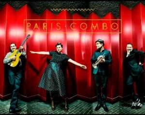 PARIS COMBO LIVE  (Le Quai, Angers, France 2015)
