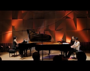 KIAZMA Piano Duo: Through whirling clouds