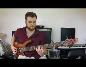 Solo Bass Etude - Sean Connolly (Etude 4)