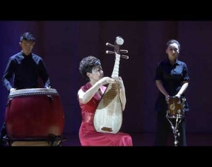 Tales of the Silk Road: Pipa (Chinese Lute) & Percussion Concert 章红艳携中央音乐学院弹拨乐团【中国弹拨·击乐】情景音乐会