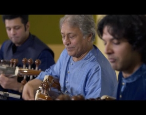 Sarod Maestros Amjad Ali Khan, Amaan Ali Khan and Ayaan Ali Khan | Musicians at Google